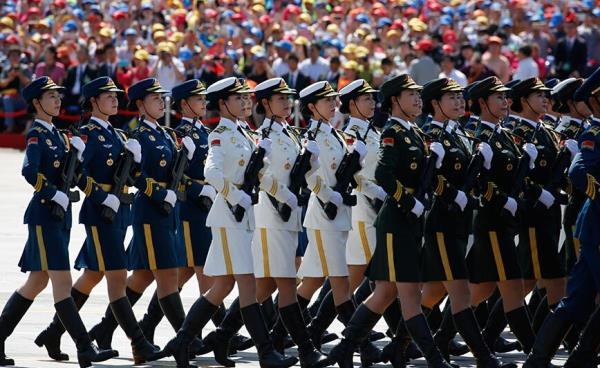 中国抗战胜利70周年阅兵式盛大举行