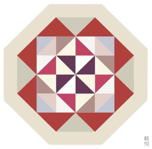 但也会以结构性的方式连接长方形,或是以极具个性的方式连接各种尺寸