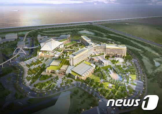 仁川机场前的百乐达斯赌场度假村计划明年3月